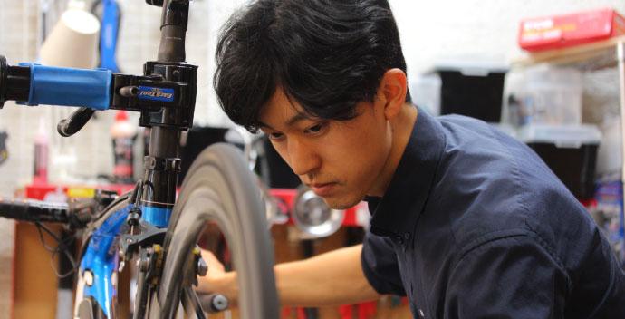 自転車安全整備士、自転車技士の有資格者