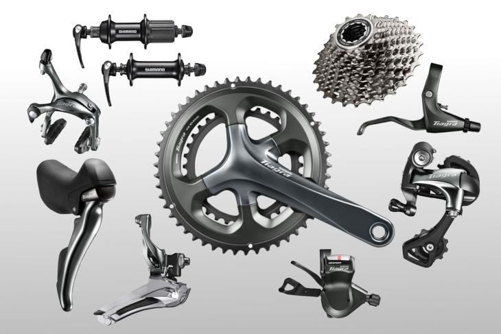 SHIMANOのロードバイクのコンポーネントとして高価買取が可能なティアグラ