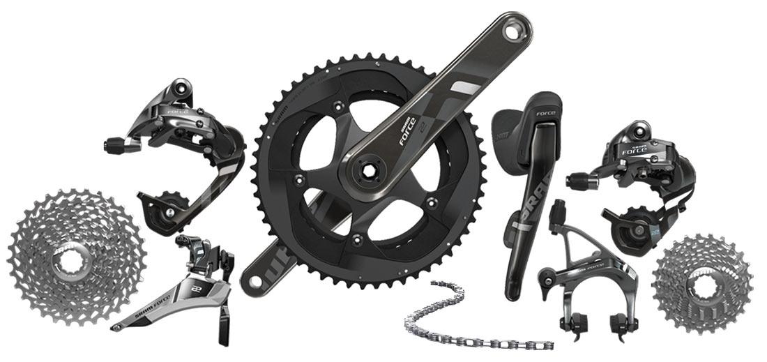 ロードバイクの高価買取部品