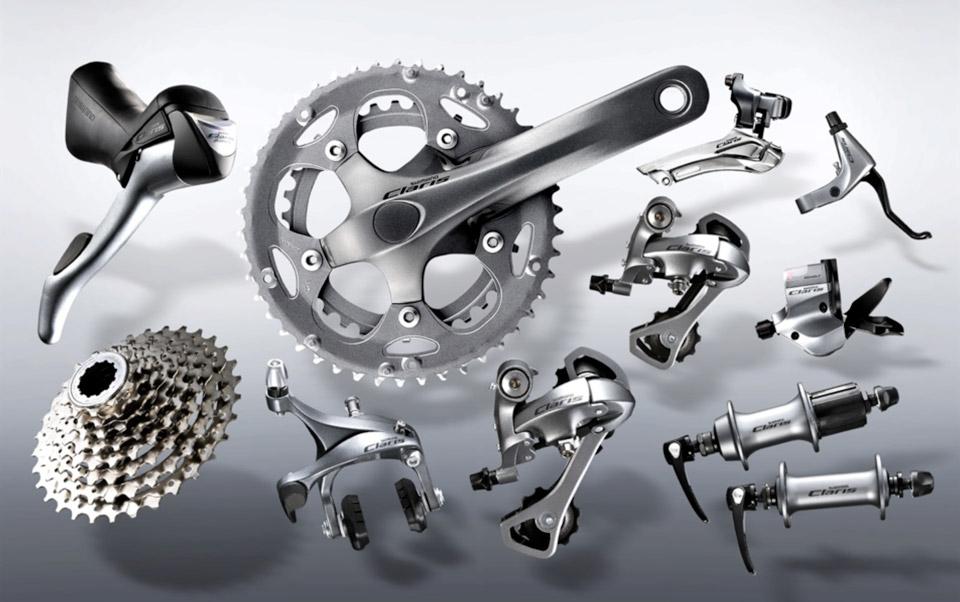 ロードバイクの高価買取されるコンポーネントはSHIMANOが定番だ。