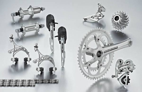 VeloceはCampagnoloでも重要な部分