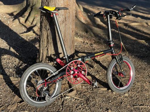 折り畳み自転車大好き!車輪は小さければ小さい程可愛くて良い!!