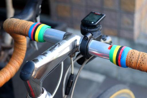 サイクルスポーツの華!5色の虹
